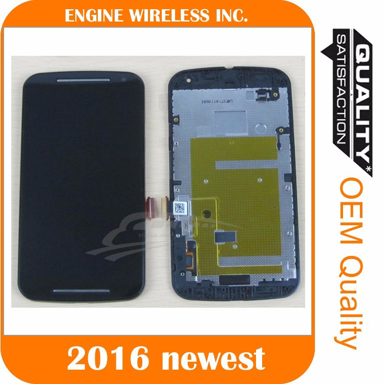 OEM Full LCD Display Touch Screen Digitizer Glass Assemble lcd for moto g2