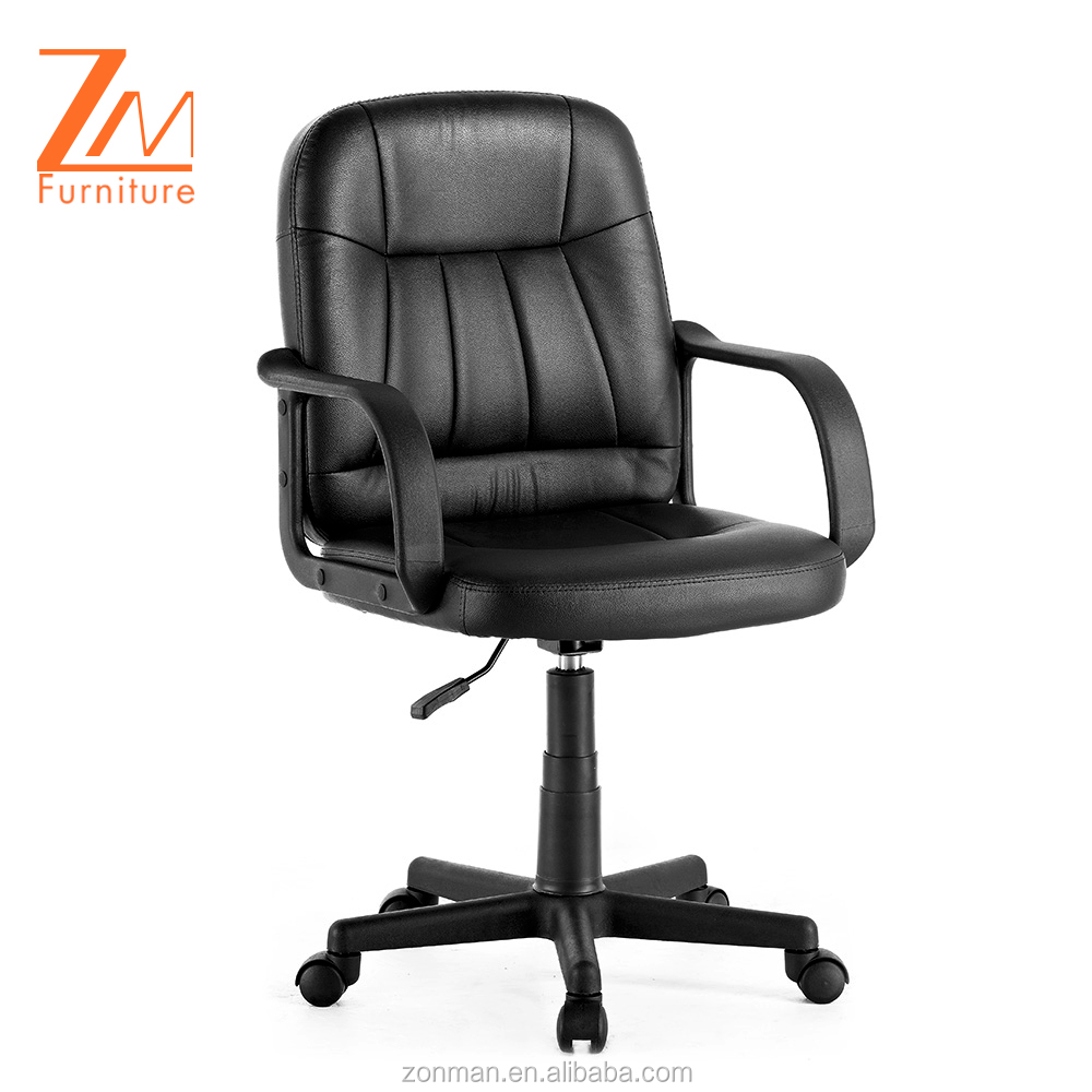 cheap classic old style low back executive synthetic office chairs with arms (EX100GA)