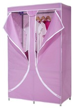 2 Sliding door printed sliding door wardrobes/ folding fabric wardrobe closet/ ready assembled wardrobes