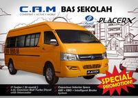Placer-X School Bus