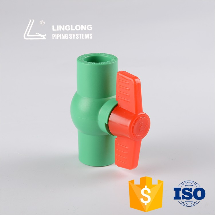China manufacturer plastic water control valves for plumbing