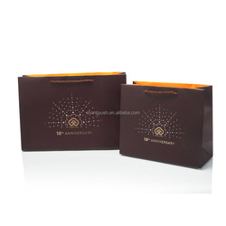 China alibaba shanghai factory custom black paper packaging bags
