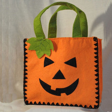 Handmade Children Halloween Candy Gift Bag Felt Halloween Bag