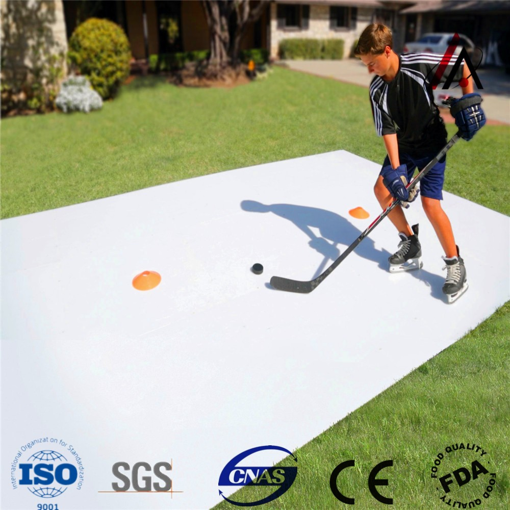 HDPE Anti-UV dasher board fence for ice rink ice hockey shoot pads