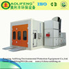 EPS Insulated Panel Auto Powder Coat Downdraft Booth