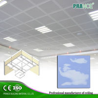 Pop Design Fashion aluminum fireproof suspended ceiling