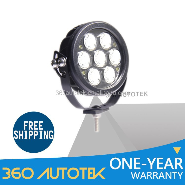 70w Waterproof Led Work Light Headlight Motorcycle Trailer 70w Led Driving Light For Truck,Round Led Spotlight