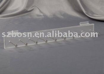 Acrylic Keychain Display,Perspex Hangers & Racks,Plexiglass Hook