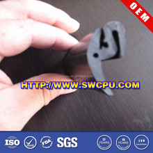 Custom made F shape rubber protective strips/seals