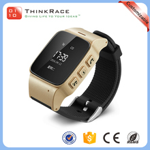 Android and IOS one touch SOS elderly gps tracking watch