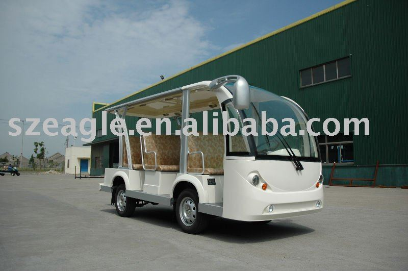 SHUTTLE BUS 8 seats CE Approved electric mini bus/shuttle bus/sight seeing car/electric vehicle, electric car, EG6088K