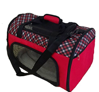 Airline Approved Pet Carriers w/ Fleece Bed For Dog & Cat Pet tote