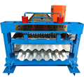 Zinc Plate Trapezoidal Steel Roofing sheet Roll Forming Machine