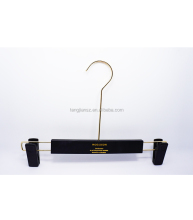 Luxury Pants Hanger with Long Hook Custom Skirt Dress Bottom Hanger