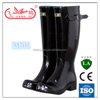 fashion lady sexy rain rubber boot/woman gum boot shoes made in china