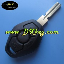 plastic key fob case remote key blank with half letter on the backside