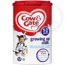 Cow & Gate Growing Up Milk 1-2Yrs (900g)