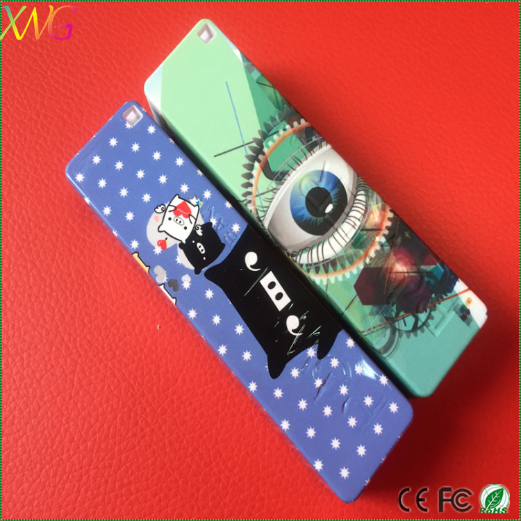 water transfer printing oem logo custom power bank portable power banks