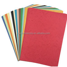 A4 230gsm 10color mix embossed texture paper cover