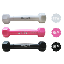 Dumbbell exercise sports fitting plastic promotional pen