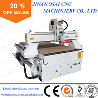 China Factory Price EPS / Plywood 3D CNC Router Engraver Machine 4 Axis CNC Milling Machine for Sale