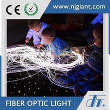 Rgb Color Change Fiber Optic Decoration Plastic Pmma Fiber Optic Cable With High Brightness