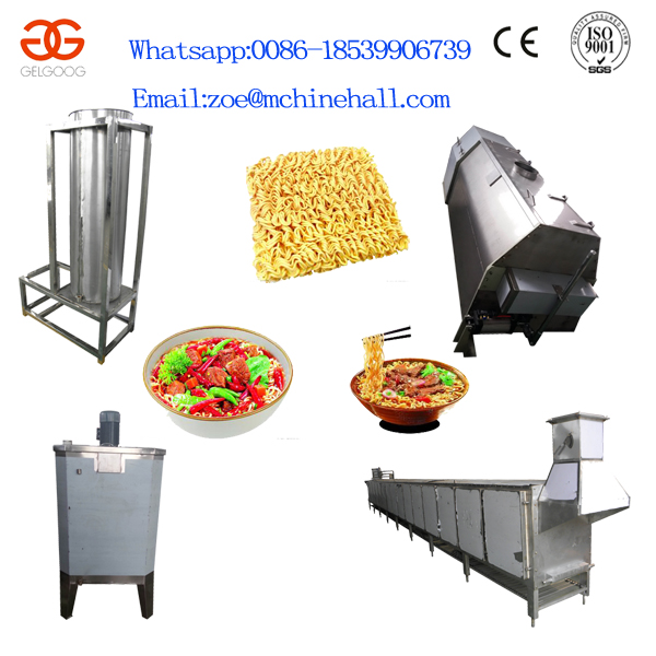 Automatic Instant Noodle Production Line Cup Noodles Making Machine Fired Instant Noodle Machines