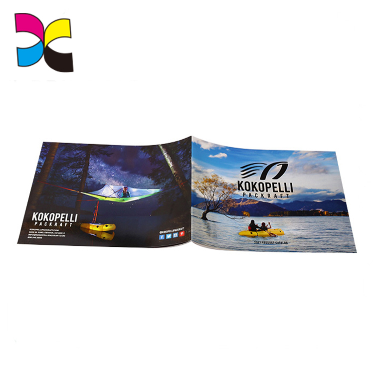 Guangzhou factory OEM high quality design cheap color catalogue printing