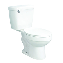 China bathroom two piece american standard siphon toilet