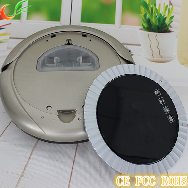 2017 New Robotic Vacuum Cleaner With 2200mah Lithium Battery
