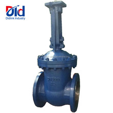 Cast Iron DN300 PN25 Long Non-Rising Stem Ball Body Direct Buried Underground With Flanged Through Water Oil Gas Gate Valve