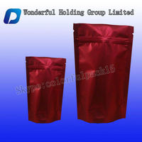 High quality stand up red date packing/Aluminum foil date packaging bag with zip lock