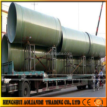 FRP GRP water pipeline