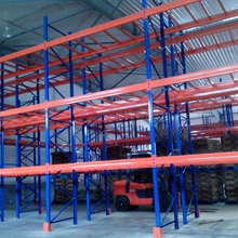 Pallet racking tire storage racks shelves / warehouse metal storage shelf