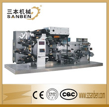 (6+2C) Servo Control (SBL-300) Automatic Letterpress Intermittent Rotary Label Printing Machine with Die Cutter & UV Dryer