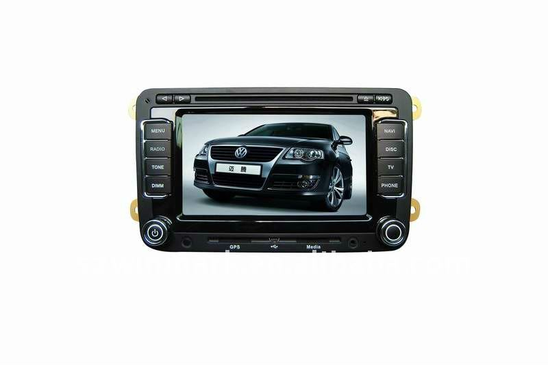 7in 2 din in dash special car dvd player for VW-MAGTON
