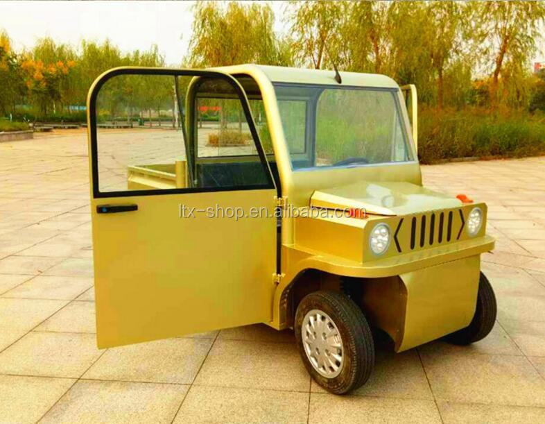 Factory 4 Wheel Electric Pickup Truck, Full Closed Electric New Energy Automobile Vehicle With Cargo Longer Box