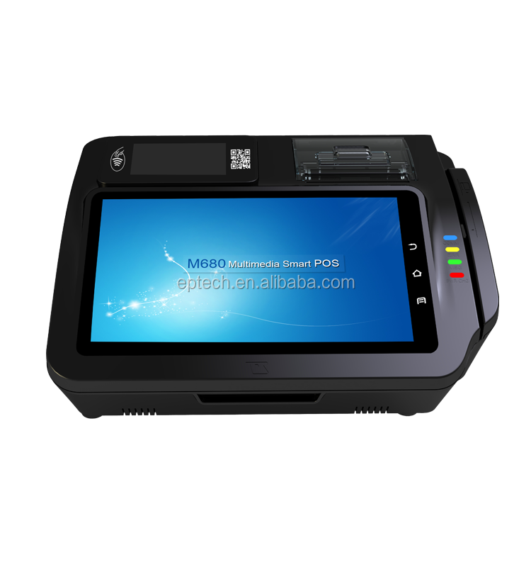 M680S Direct Touch Pos With QR Code Payment/ Fingerprint/ NFC Reader
