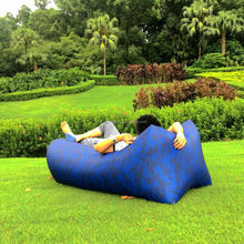 Inflatable Hangout Hammock Air Lounge Sleeping Bags Air Sofa Low Price Bean Bed Lazy Bag