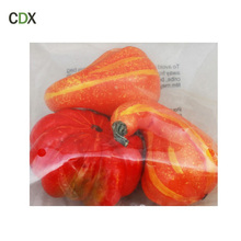 Home decoration faux vegetables artificial foam white pumpkin halloween decorative fake pumpkin