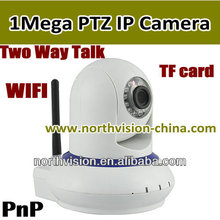 H.264 video baby monitor with two-way speaker