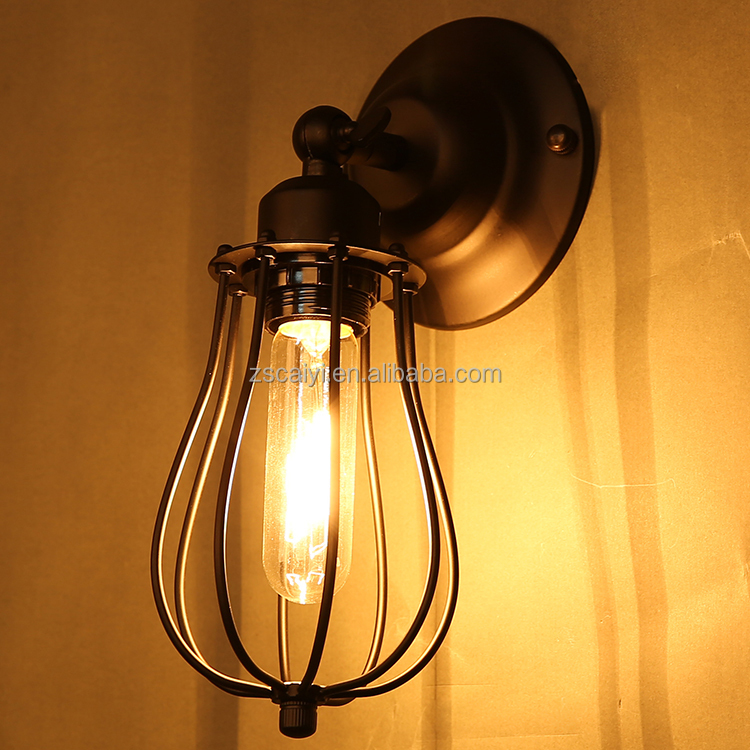 Popular Loft vintage industrial wall lamp indoor retro style edison bulb moroccan wall sconces
