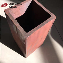black steel galvanized square tube material specifications
