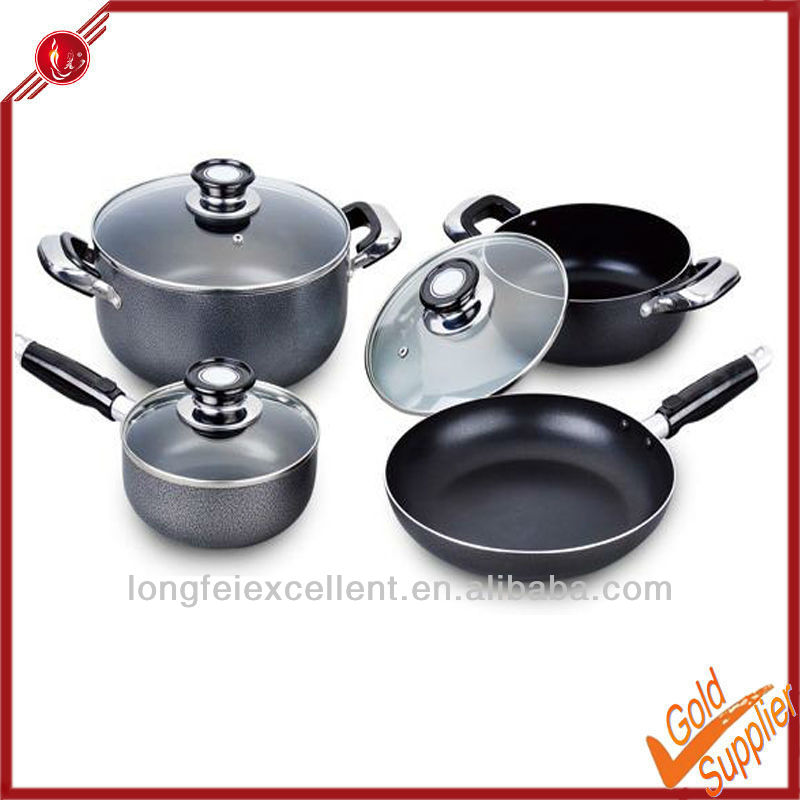 7pcs aluminum kitchenware wholesale german kitchenware