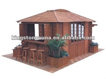 Garden Hot Tub Spa Wooden Gazebo Kits KGT-G6