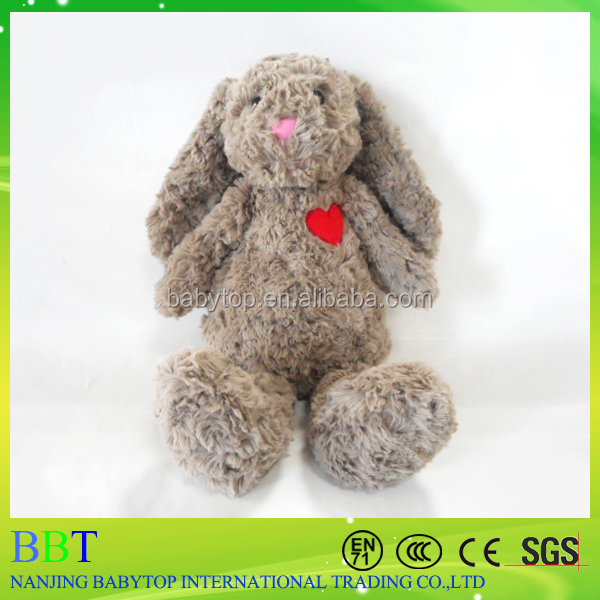 Online shopping realistic 30cm Long Ear Bunny Stuffed <strong>Rabbit</strong> for Easter Day Toy