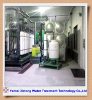 Deep well water purification treatment equipment making well water to pure water