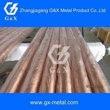 straight copper pipe type aluminum clad copper tube price meter
