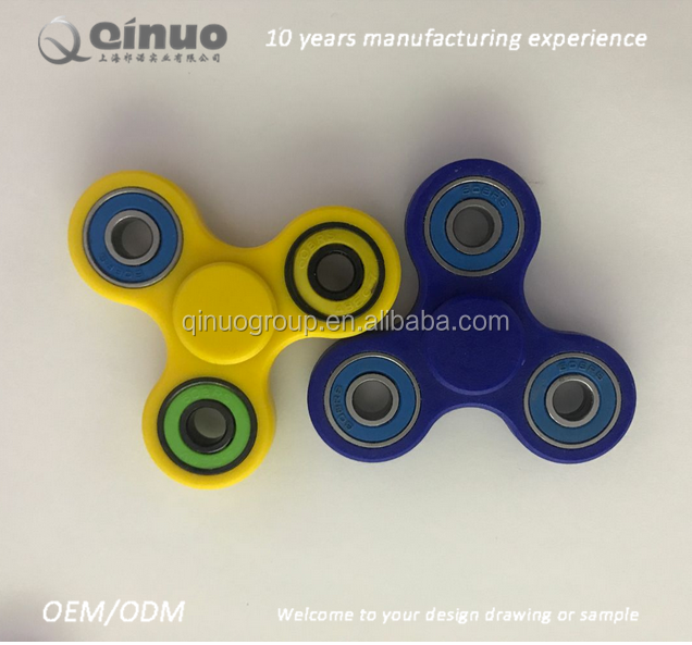 Plastic ABS+ metal bearing spinner fidget for relieve the pressure