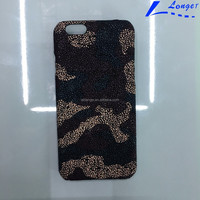 Newest design snakeskin pattern cover mobile phone case